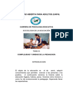 TEMA III Sociología Educativa