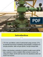 Cathodic Protection for Oil Wells