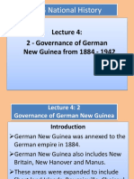 Lecture 4-2 Governance of New Guinea BY YAMSOB MOSES