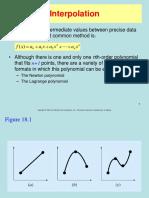 Topic 3c Interpolation