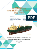 Technical Report 5500 Dwt Cargo Ship