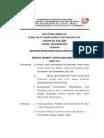 Sk Pedoman Pengorganisasian. Rm