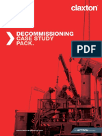 Claxton Decommisioning Case Study
