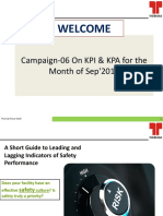 Safety Campaign-06- On KPI & KPA_TMLSep_2018