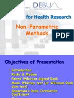 Non-parametric Methods 1