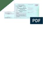 Mandat Postal Exemplu
