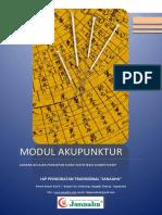 Modul Akupunktur 20 Cover Warna @30.500
