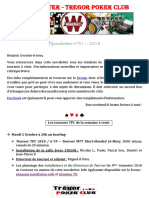 Newsletter n°31 - 2018 (30 septembre 2018)