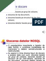 Stocarea Datelor in BD NOSQL-1