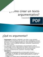Cómo Crear Un Texto Argumentativo