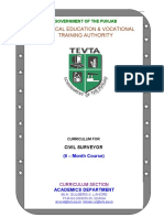 Civil Surveyor Course TEVTA