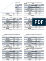 Ficha de Evaluación de Concurso de Ponches