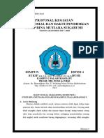 Proposal Bakti Sosial BM 2018 Ok