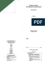 KELSEN, Hans - Teoria Geral Do Direito e Do Estado