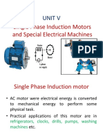 Single Phase Induction Motor and Special Electrical Machines