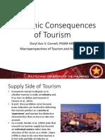 03 - Economic Consequences of Tourism