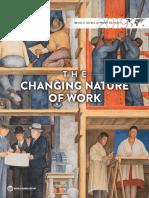 2019 WDR Report La naturaleza cambiante del trabajo -Banco Mundial