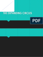 The Expanding Circles