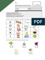 Evaluacion Letra L