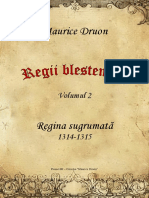 Maurice Druon - Regii Blestemati Vol.2 - Regina Sugrumata [v. BlankCd]