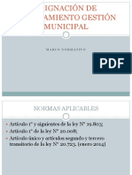 Marco Normativo Asignación PMG