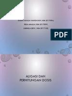 Aligasi Dan Perhitungan Dosis