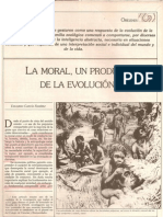 la moral, producto de la evolución
