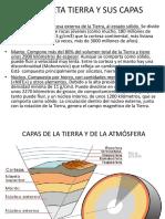 El Planeta Tierra y Sus Capas Litosfera Placas Tectonicas Vulcanismo Terremotos