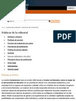 Directrices Feliminismo:s