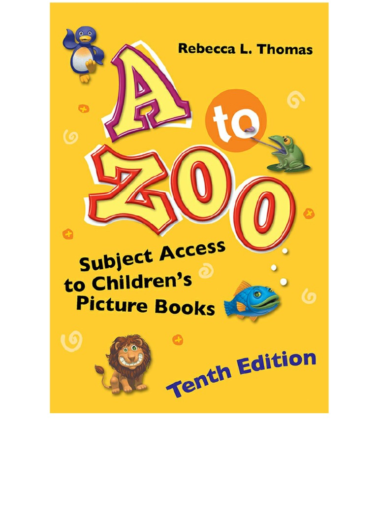 b9f8cf42 A to Zoo - Subject Access to Children's Picture Books, 10th Edition |  Holidays | Grandparent