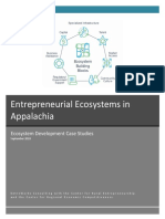 Entrepreneurial Ecosystems Case Studies 2018