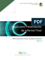 Guia Presentacion Informe Final