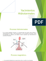 Yacimientos Hidrotermales.ppt.pps