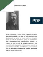 El espíritu del Capitalismo en Max Weber