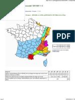 EN 1991-1-3 - AN - Régions de neige FR