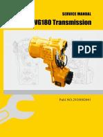 ADVANCE WG180 Transmission Service Manual