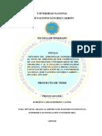 """""""MÉTODOS DEL APRENDIZAJE EXPERIENCIAL Y EL NIVEL DE APRENDIZAJE POR COMPETENCIAS DE LOS ESTUDIANTES UNIVERSITARIOS DE PRE-GRADO DEL V AL X CICLO DE LA ESPECIALIDAD DE LENGUA, COMUNICACIÓN E IDIOMA INGLES – FACULTAD DE EDUCACIÓN DE LA UNIVERSIDAD NACIONAL JOSÉ FAUSTINO SÁNCHEZ CARRIÓN – HUACHO, AÑO 2018""""."""