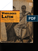 Classical Latin - Wheelocks Latin - 5th Ed - Chapters 1-8