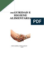 Manual de seguridad e Higiene - Gastronomia