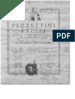 Pezzettini Facili Pianoforte 4 Mani