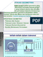 Bab 2 Metrologi Industri (Spesifikasi Geometris).ppt