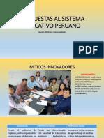 Propuestas Al Sistema Educativo Peruano..