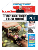 Journal La Depeche de Kabylie Du 11.10.2018