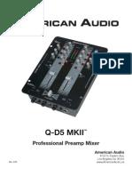 American Audio Battle Mixer Q-d5-Mk2
