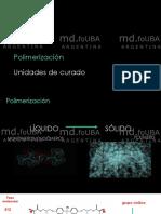 2-Polimerizacion -Unidades de Curado