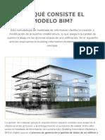 En Qué Consiste El Modelo BIM