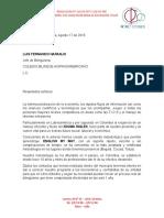 Carta Colegio Bilingüe Tuluá