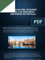 Ventajas Del Buzoneo En Sevilla