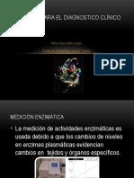 Enzimas para el diagnostico clínico