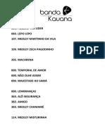 Kauana List